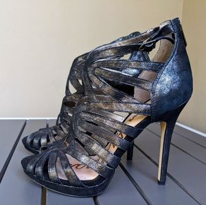 Black / silver Sam Edelman High Heels Shoes